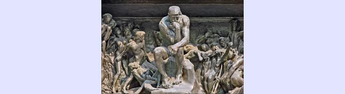 Visite de l'exposition 'l'enfer selon Rodin' le 7 décembre 2016