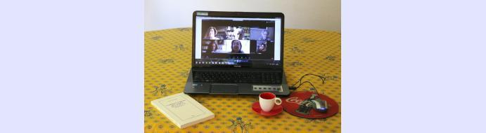 Prochain café littéraire en visio-conférence le 14 janvier 2021