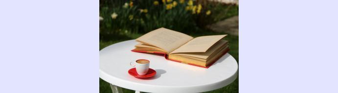 Prochain café littéraire en extérieur le 6 septembre 2021